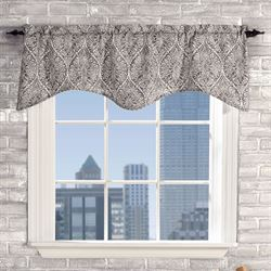 Lola Scalloped Valance 52 x 17