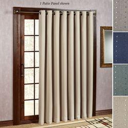 Grand Pointe Grommet Patio Curtain Panel 110 X 84