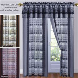Times Square Panel and Valance 55 x 84