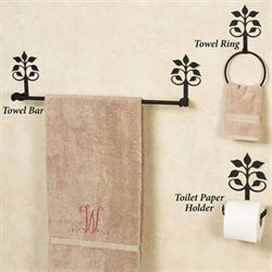 Janae Toilet Paper Holder Black