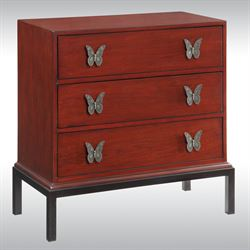 Butterfly Storage Chest Rosewood