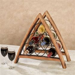 Lodi Wine Bottle Rack Oak