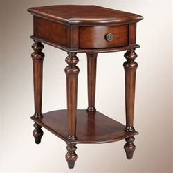 Coralie Chairside Table Classic Cherry