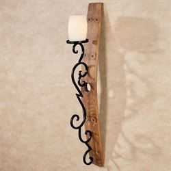 San Luis Obispo Wall Sconce Dark Oak
