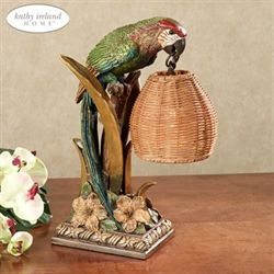 Parrot Paradise Accent Lamp Multi Earth