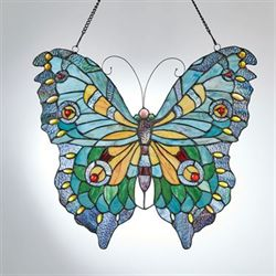 Butterfly Window Art Panel Multi Cool