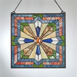 Samuel Window Art Panel Multi Bright