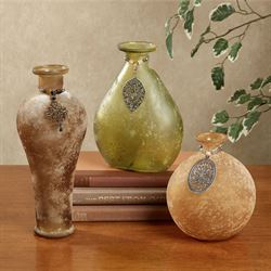 Garner Adorned Vase Set Multi Cool Set of Three