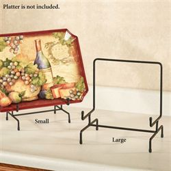 Silas Platter Display Stand Black