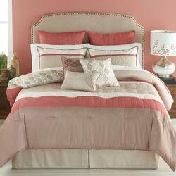 Acadia Comforter Bed Set Mocha
