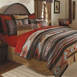 Santa Fe Comforter Set Antique Gold