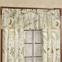 Althea Tailored Curtain Panel Eggshell 50 x 84