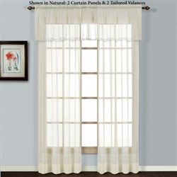 Batiste Tailored Curtain Panel
