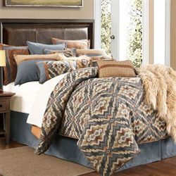 Antonio Comforter Set Multi Warm