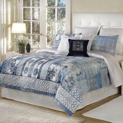 Quinn Blue Comforter Set