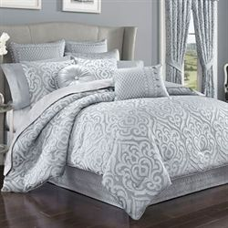 Harrison Comforter Set Chrome