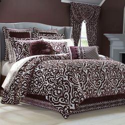 Sicily Plum Comforter Set