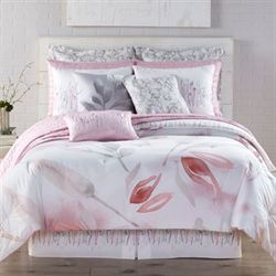 Reflections Mini Comforter Set White
