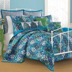 Paradiso Indigo Quilt Set Blue