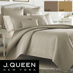 Hudson Quilted Coverlet Set