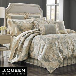 Rialto Comforter Set Slate Gray