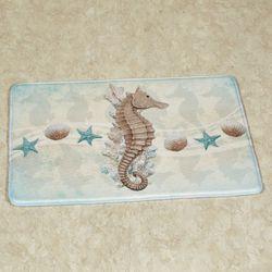 Sealife Cushioned Rectangle Mat Multi Cool 35 x 22