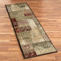 Ornate Block Rug Runner