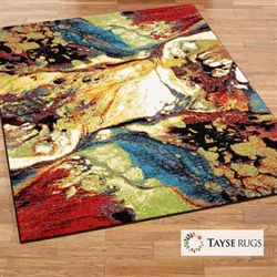 Enigmatic Rectangle Rug Multi Bright