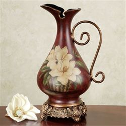 Magnolia Pitcher Vase