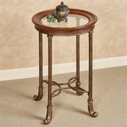 Lucia Accent Table Aged Bronze