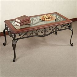 Clairview Cocktail Table Regal Walnut