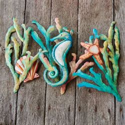 Coral Sealife Wall Art Multi Cool