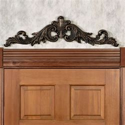Sidoria Scroll Door Topper Antique Bronze