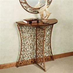 Annissa Vining Console Table Bronze