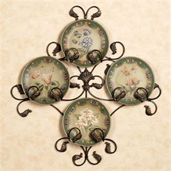 Burst of Spring Decorative Plate Set & Decorative Plates and Racks | Touch of Class