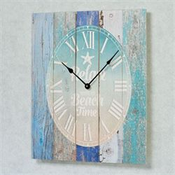Relax on Beach Time Wall Clock Multi Cool