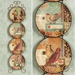 Love Notes Messenger Plate Set  Set of Four