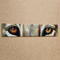 Lion Eyes Canvas Art