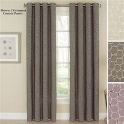 Bubbling Grommet Curtain Panel