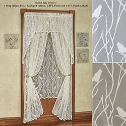 Troubadour Lace Curtain Panel