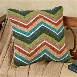 Cactus Line Pattern Pillow Multi Cool 16 Square
