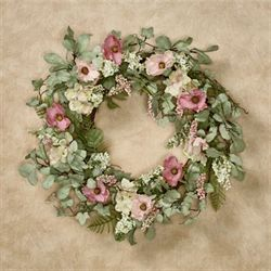 Sun Kissed Floral Wreath Multi Pastel
