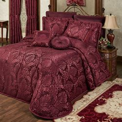 Camelot Grande Bedspread Burgundy