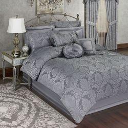 Camelot Comforter Set Gray