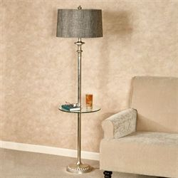 Nayeli Floor Lamp Platinum