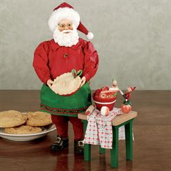 Apple Pie Clothtique Santa Set Red
