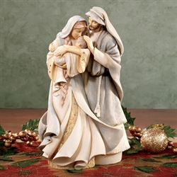 Holy Family Figurine Natural