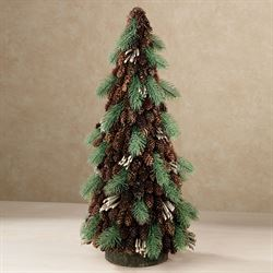 Pine Cone Rustic Tree Green