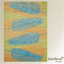 Breezy Days Rectangle Rug Lime