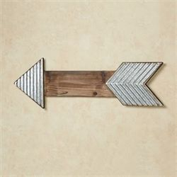 Arrow Wall Art Silver